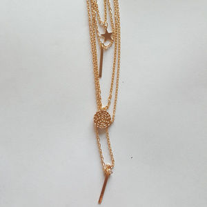 Jewelry - Gold Multi Layer Necklace